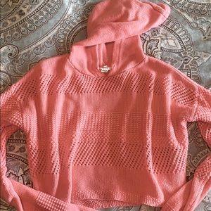 Garage cropped sweater. XS-S